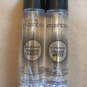 Smashbox photo finish primer water 1oz x 2 bottles